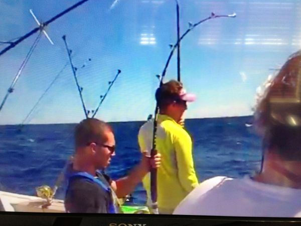 Peter Fights Yellowfin